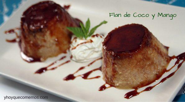 Flan-de-Coco-y-Mango