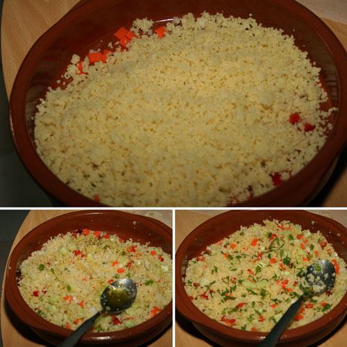 receta de ensalada de cous cous
