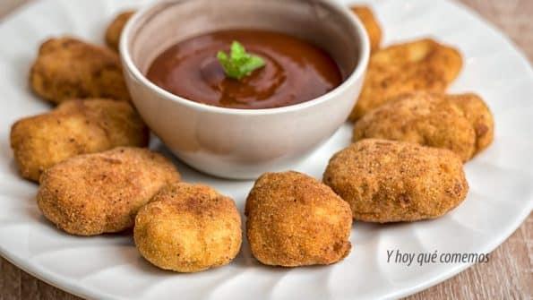 como hacer nuggets de pollo deliciosos caseros
