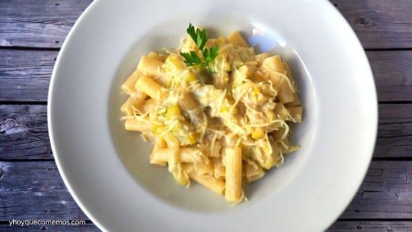 pasta con calabacin receta 1