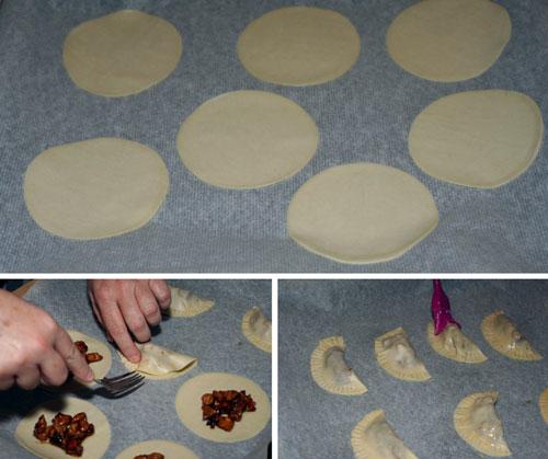 rellenar-y-cerrar-las-Empanadillas-de-Pollo