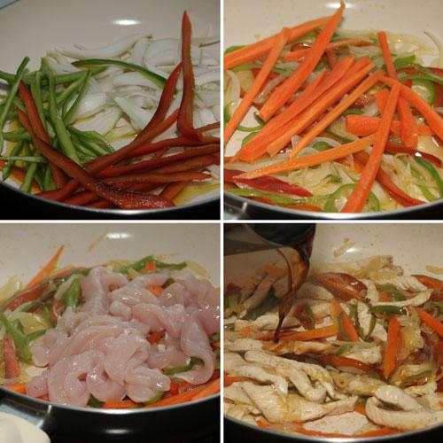 sofreir-el-pollo-con-las-verduras
