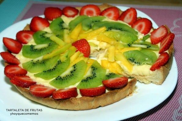 tartaleta de frutas receta