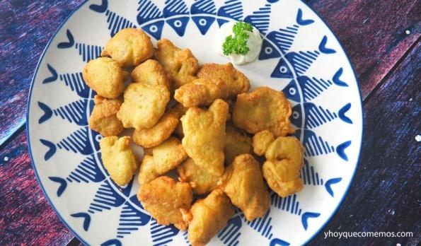 tortillitas de gambas receta 2