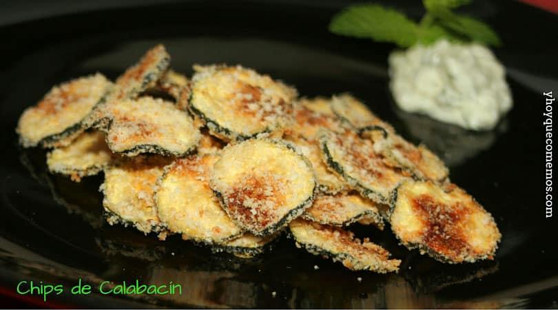 chips de calabacin