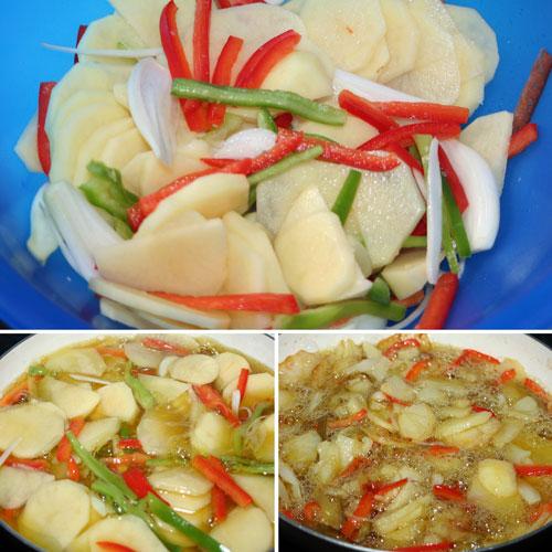 hacer-las-patatas-con-las-verduras-en-la-sarten