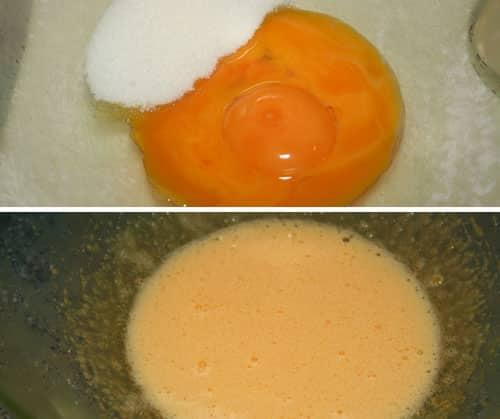 mezclar-yemas-con-azucar
