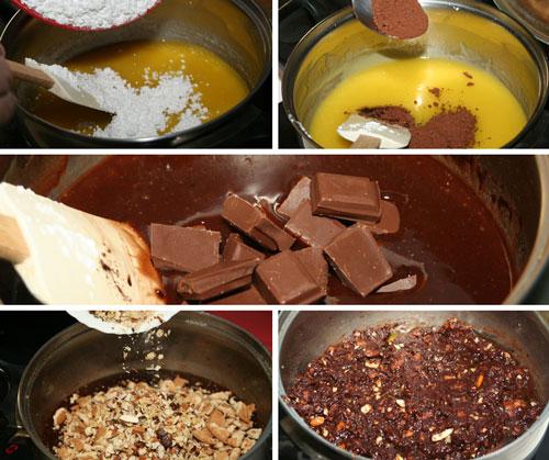 paso-a-paso-Salami-de-Chocolate