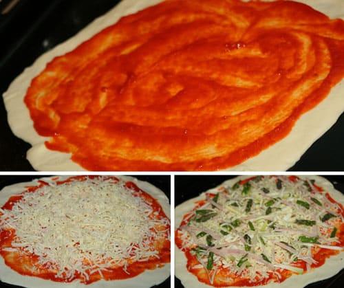 preparar-la-pizza-con-esparragos-trigueros
