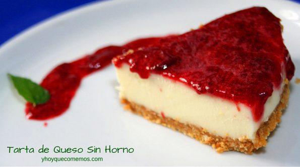 Tarta-de-Queso-sin-horno