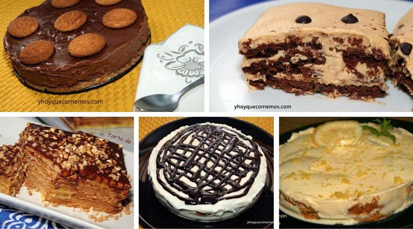 9 tartas deliciosas con galletas