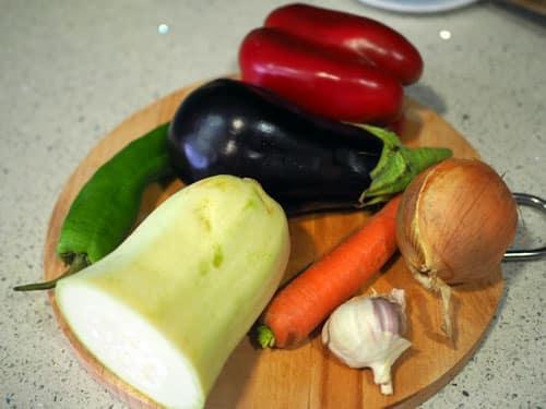 ingredientes-para-la-PAella-Vegetariana