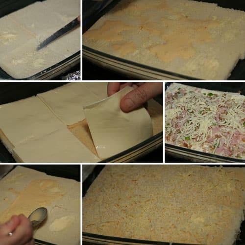 receta Pastel de Pan de Molde al horno
