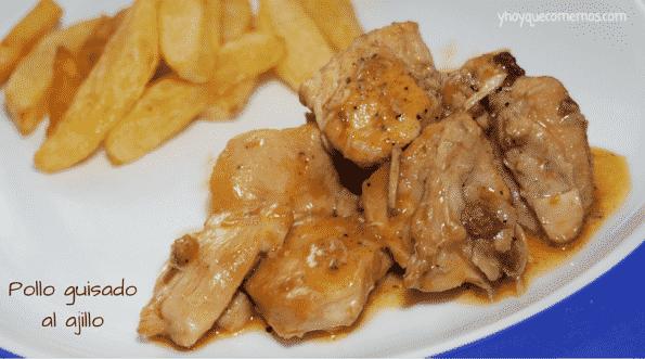 Pollo-al-ajillo-guisado