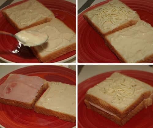 Sandwich-Croque-Monsieur-paso-a-paso