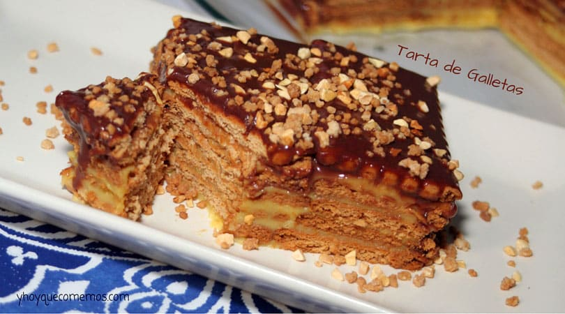 tarta de galletas tradicional