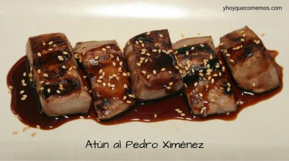 receta de atun con salsa de vino al pedro ximenez