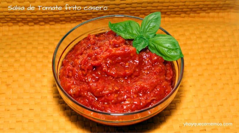 C mo hacer salsa de tomate frito casero recetas y hoy - Salsas faciles de hacer ...