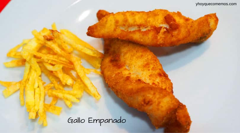 gallo empanado