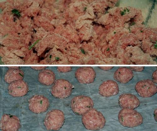 preparar-las albondigas con salsa teriyaki