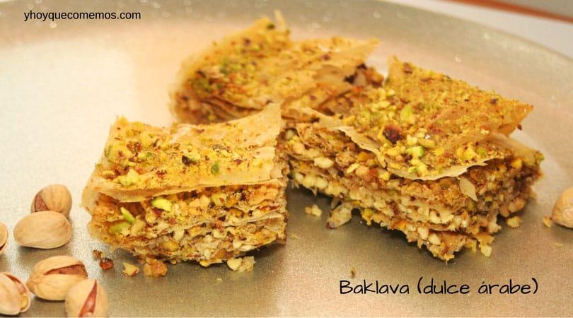 baklava dulce arabe