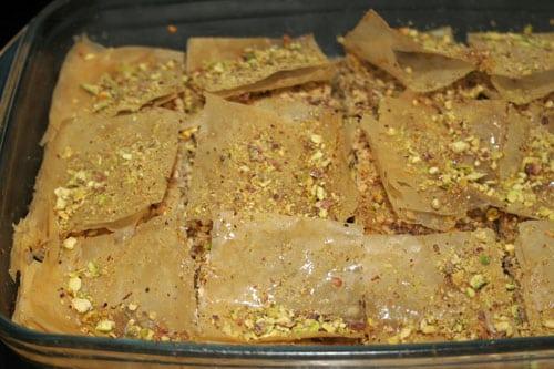 baklava recien-salido-del-horno