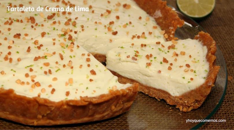 Tartaleta de Crema de Lima