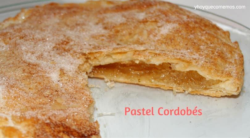 pastel cordobes