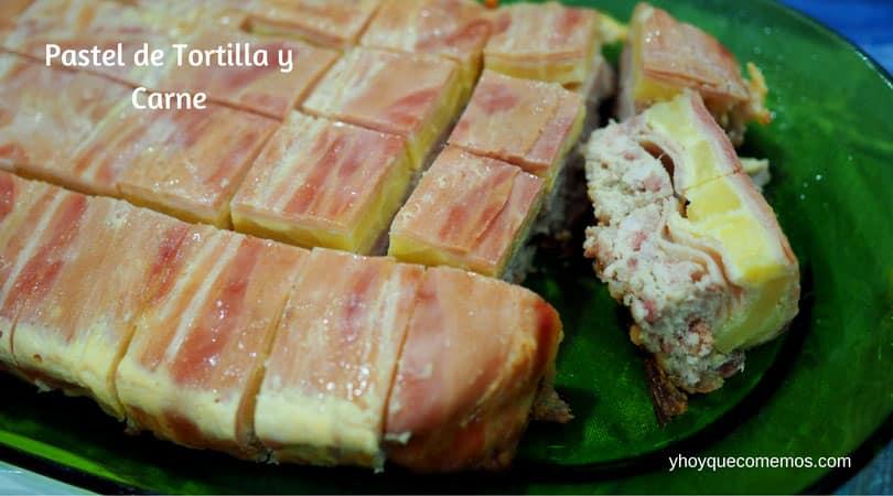 Pastel de Tortilla y Carne