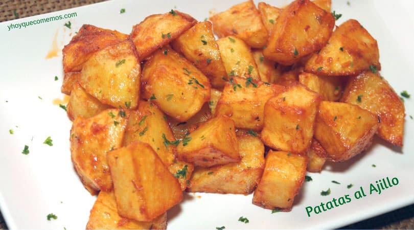 patatas al ajillo