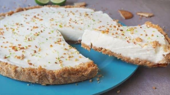 receta de tartaleta de crema de lima o tarta fria de lima limon