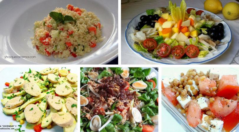 10 recetas de ensaladas deliciosas