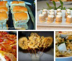 6 Recetas de entrantes y aperitivos