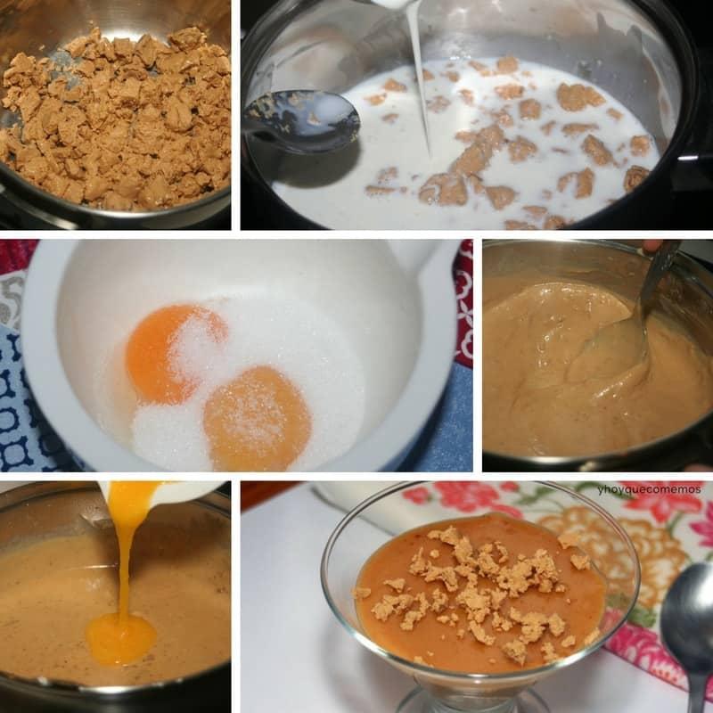 receta cremoso de turrón