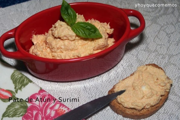 receta pate de surimi