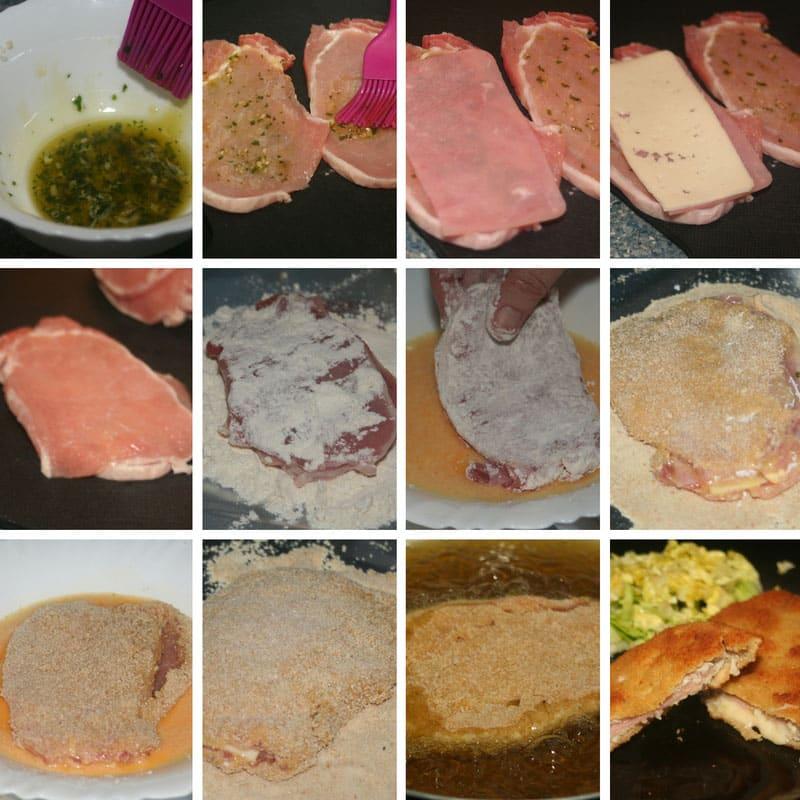 receta san jacobo de lomo jamon y queso