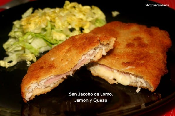 san jacobo de lomo jamon y queso