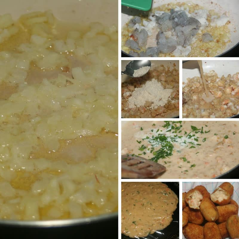receta de croquetas de marisco y pescado