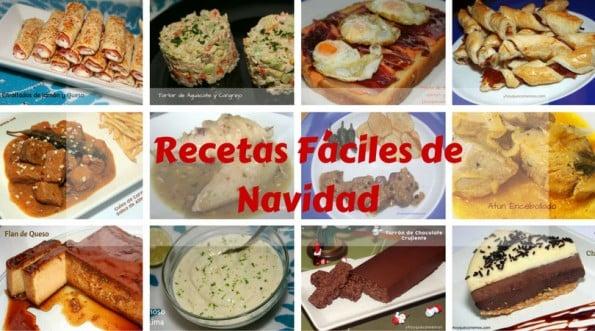 recetas fáciles para navidad recetas de cocina
