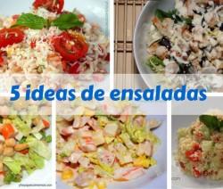 5 ideas de ensaladas