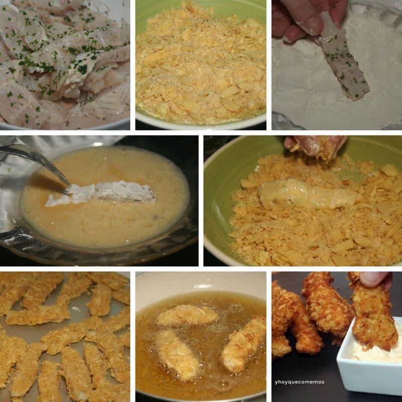 receta fingers de pescado supercrujientes