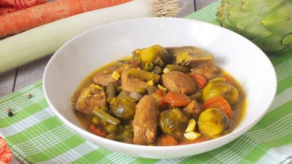 Menestra De Verduras Con Pollo Una Receta Saludable Y Rica