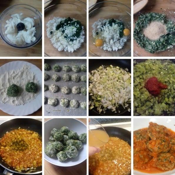 receta albondigas bacalao y espinacas