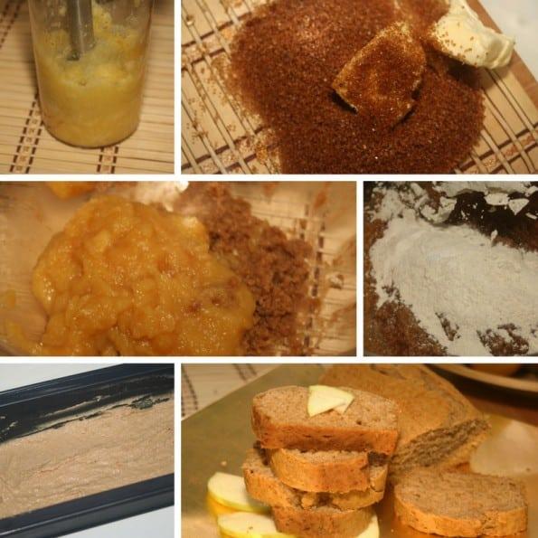 receta torta de manzana sin huevo