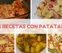 5 recetas con patatas