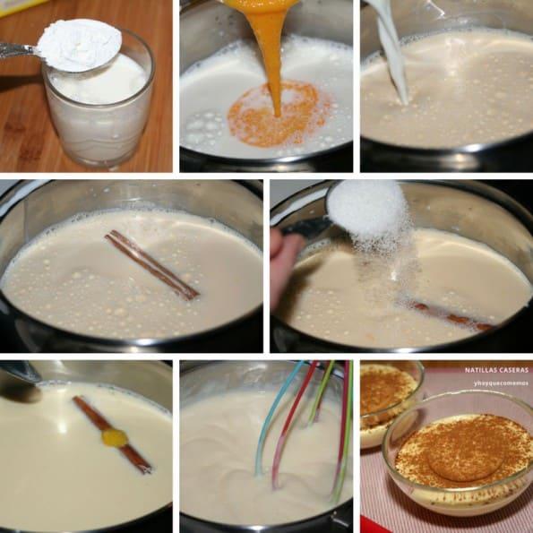 receta natillas caseras