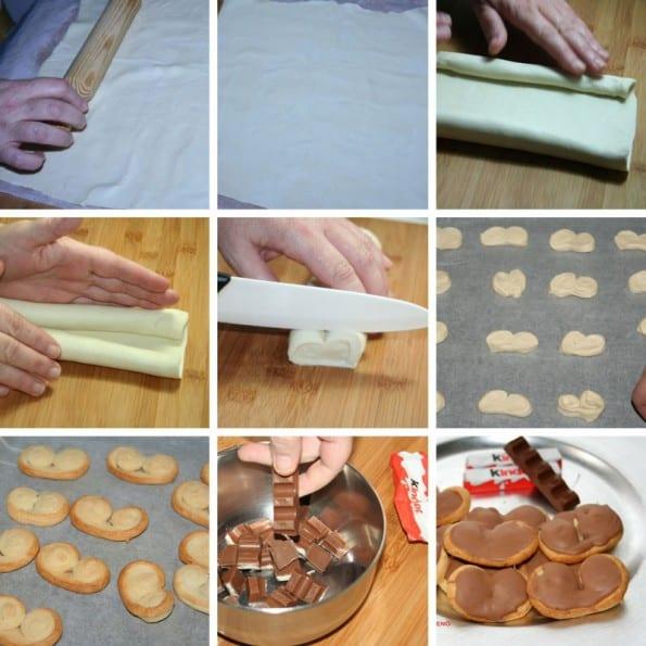 receta palmeritas de kinder bueno