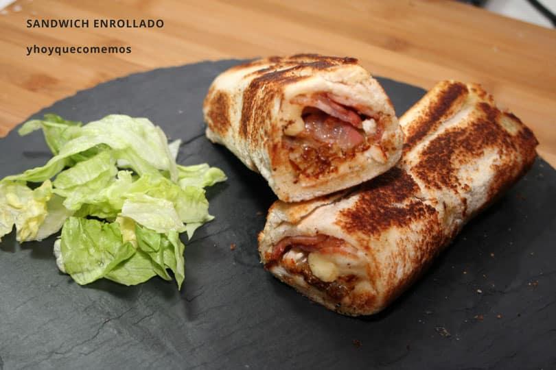 sandwich enrollado