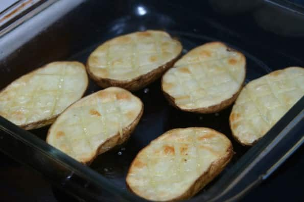 patatas con mojo verde