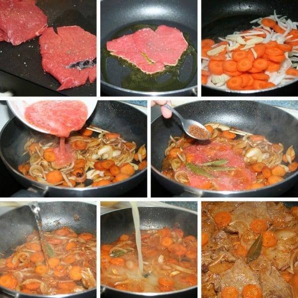 receta de escalopes de ternera a la bolonesa